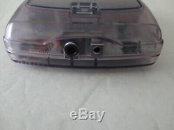 Système De Poche Modded Ags 101 Nintendo Game Boy Color Edition Violet Clair