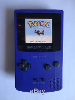 Système Portable Ags 101 Nintendo Game Boy Couleur Raisin Violet