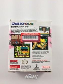 Système Portable Nintendo Game Boy Color Berry Rouge / Rose Nouveau Avec Box