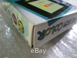 Teal Game Boy Color System Nintendo Gameboy. Complète Dans La Boîte Cib