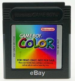 Tech Demo Revente Kiosque Test Modul Nintendo Gameboy Color Gbc Rar