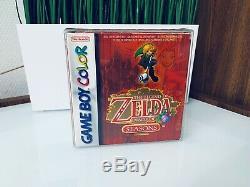 The Legend Of Zelda Oracle Of Seasons (nintendo Game Boy Color, 2001)