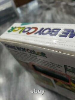 Toute Nouvelle Console De Teal Couleur Gameboy Nintendo Gameboy Scellée