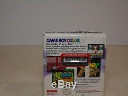 Toute Nouvelle Usine Scellée Console Game Boy Color Atomic Violet