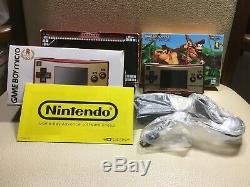 Très Bon Nintendo Game Boy Micro 20 Famicom Nes Couleur Console De Jeux F / S