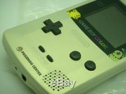 Used nintendo Game Boy Couleur Système Pokemon Or Et Silver Edition Limitée