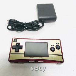 Used nintendo Game Boy Micro 20e Anniversaire Famicom Couleur Mario Console Japon