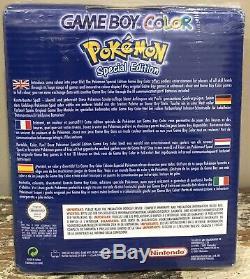 Usine Rare Scellé Nintendo Gameboy Color Pokemon Pikachu Édition Jaune L'europe