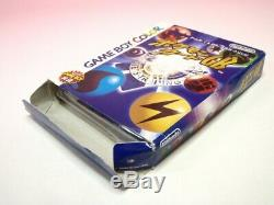 Utilisé Gameboy Color Pokemon Set De GB Gbc Or Argent Cristal Bleu Rouge GB Jp