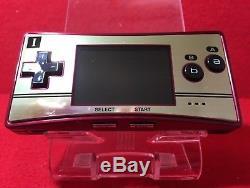 Utilisé Nintendo Gameboy Micro Famicom Couleur Console 20ème Anniversaire Ex +++ In Stoc