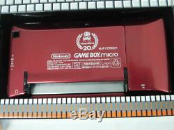 V4090 Nintendo Gameboy Micro Console Famicom Couleur Japon Adaptateur Withbox