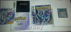 Version Pokemon Crystal (nintendo Game Boy Color, 2001) Complète