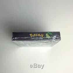 Version Pokémon Crystal (nintendo Game Boy Color) Scellé En Usine, Près De La Menthe