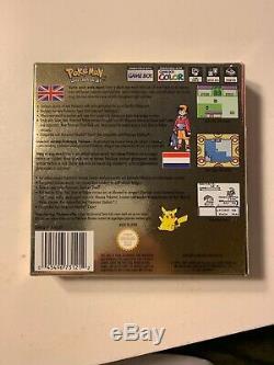 Version Pokémon Gold (nintendo Game Boy Color, 2001) 100% Véritable Boxed