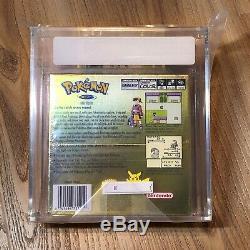 Version Pokémon Or Nouveau Rare Sealed Gameboy Color Game Boy Vga Graded 80 Nm