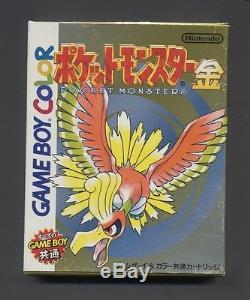 Version Pokémon Or (nintendo Game Boy Color, 1999) Japonais Nouveau Jamais Joué