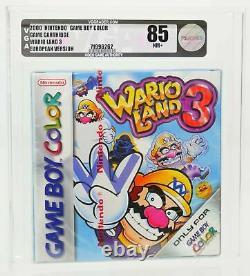 Wario Land 3 Nintendo Gameboy Couleur Gbc Neu Sealed Vga 85 Bande Rouge