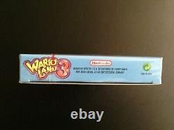 Wario Land 3 Royaume-uni Pal Gameboy Color Red Strip! Gameboy, Gbc, Monnaie