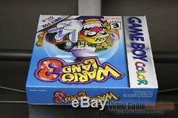 Wario Land 3 (game Boy Color, 2000) H-seam Scellé! Excellent! Ultra Rare