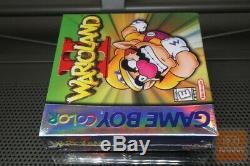 Wario Land II 2 (couleur Game Boy, Gbc 1999) H-seam Scellé! Rare