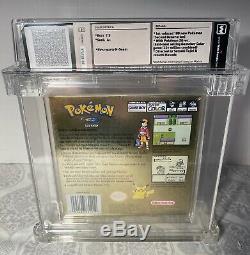 Wata Certified A + 7.5 Version Pokémon Gold Scellé Game Boy Color