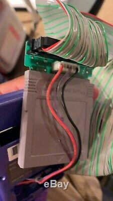 Wide-boy 64 Cgb Système De Prototype Et Cartouche De Développement Gameboy Color Ultra Rare