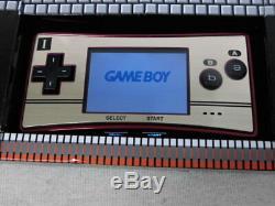 Y4903 Nintendo Gameboy Micro Console Adaptateur Famicom Poche Couleur Japon Withbox X
