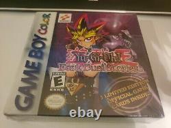 Yu-gi-oh Dark Duel Stories Game Boy Color New Factory Scellé 3 Cartes Super Rares