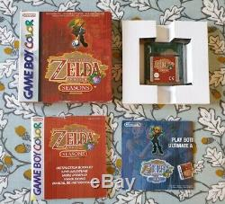 Zelda DX Awakening De Lien, Oracle Of Ages, Oracle Of Seasons. Gameboy Color