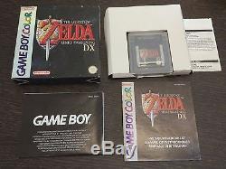 Zelda Link 'awakening DX Game Boy Couleur Completo GB / Gbc Nintendo Pal Eur