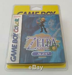 Zelda Oracle Of Ages Game Boy Color Game Boy Neuf Sous Blister Rigide New Sealed