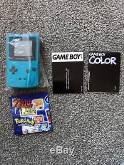 -nintendo -game Boy Collection De Console De Couleur- Tout Est Complet- Comme Neuf